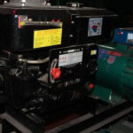 What are the diesel generator accessories